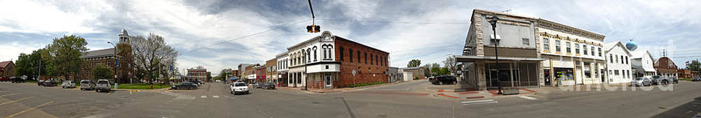 Gregory Dyer - Downtown Montezuma Iowa Panorama