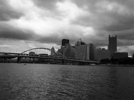 Downtown Pittsburgh by Joyce  Wasser