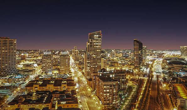 Downtown San Diego by Alex Weinstein