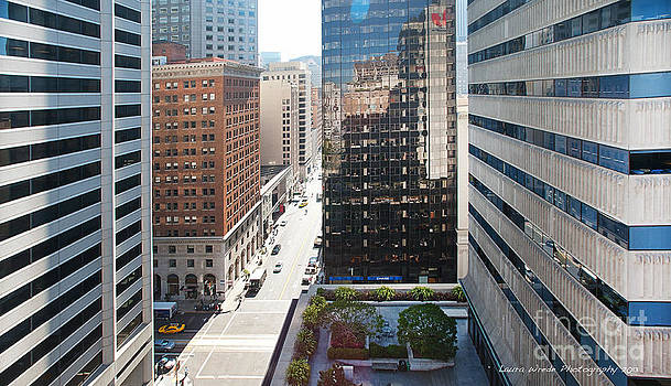 Downtown San Francisco by Artist and Photographer Laura Wrede