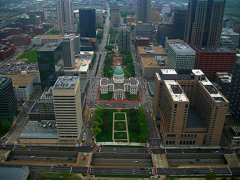 Downtown St. Louis by Patricia Erwin