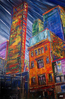 Downtown Toronto by John Scholey