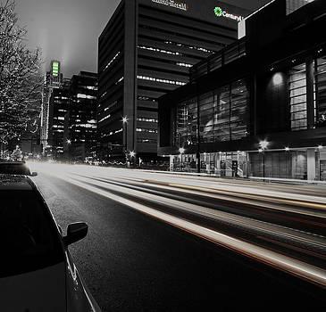 Downtown Traffic by Steve ODonnell