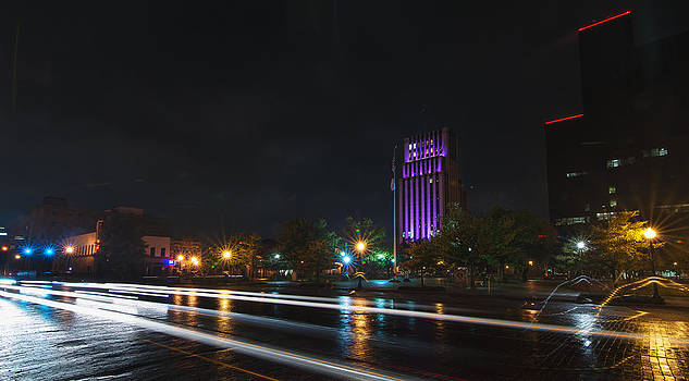 Todd Aaron - Downtown Tyler Texas at Night