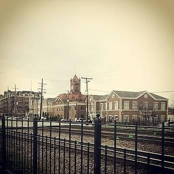 Downtown Wheaton.  Kinda Cute! by Katie Basil