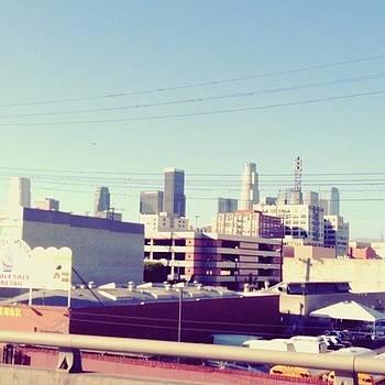 #downtownla #fwy10 #traffic #fwy110 by Orlando Gonzalez