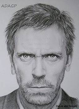 Dr House Hugh Laurie by Danse DesSonges