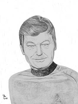 Dr. Leonard McCoy by Thomas J Herring