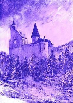 Dracula's Castle in Transilvania by Alex Marek  Musat
