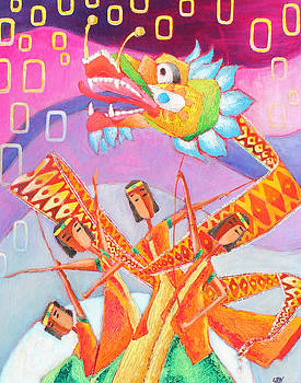 Dragon Dance by Sanjeev Nandan