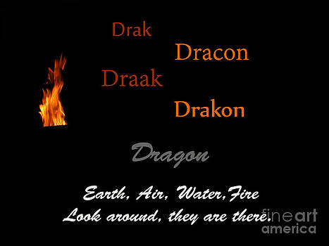Dragon Dracon Drakon by Melissa Lightner
