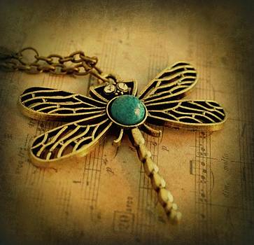 Dragon Fly On My Mind by Linda Gonzalez