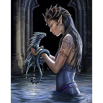 Dragon Love!!! <3 by Gaby Vazquez