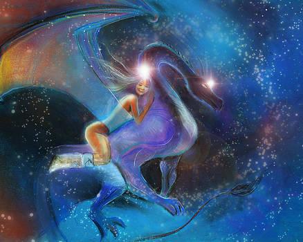 Dragon Rider  by Lucinda Rae