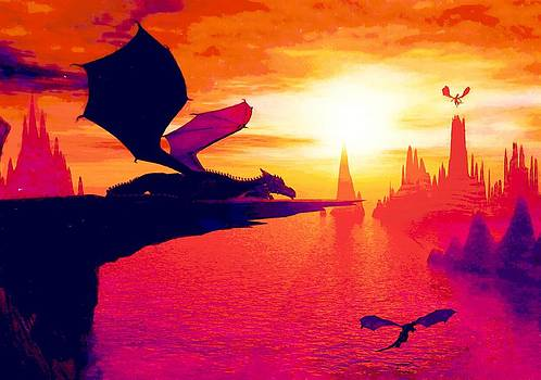 Awesome Dragon by David Mckinney