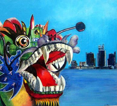 Susan Duxter - Dragonboat
