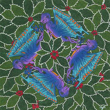 Dragondala Winter by Mary J Winters-Meyer