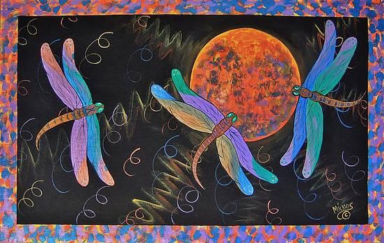 Dragonflies and Moonbeams by Cindy Micklos