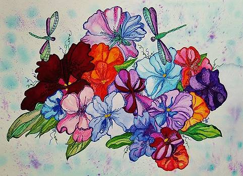 Dragonfly Bouquet by Sharon Leigh