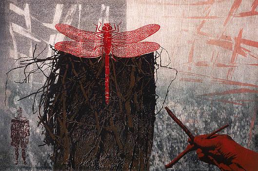 Dragonfly Garden by Susan Smith Evans