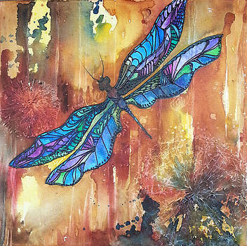 Christy  Freeman - Dragonfly Rust