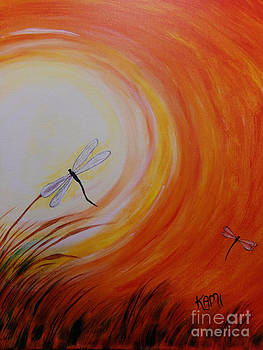 Dragonfly Sun 2 by Kami Catherman
