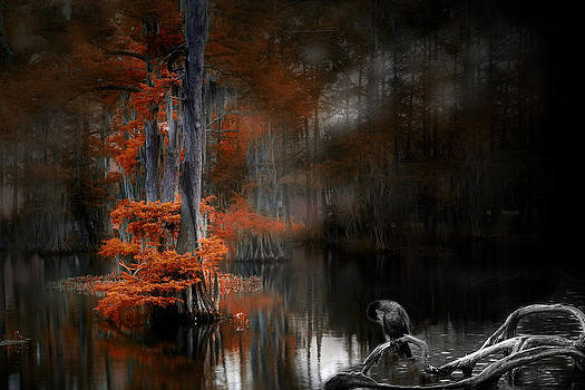 Dramatic Lake 2 by Cecil Fuselier