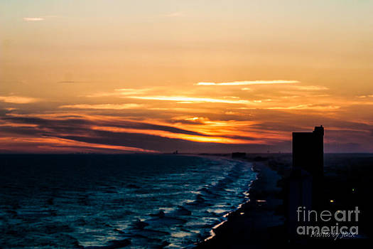 Dramatic Sunset by Jinx Farmer