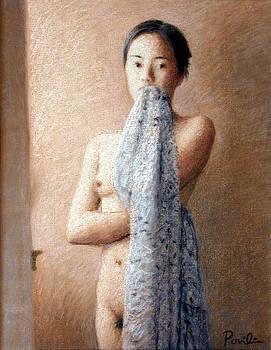 Charles Pompilius - Draped Nude