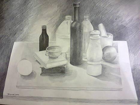 Drawing by Asif Kasi