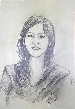 Drawing by Sayeed Iqbal