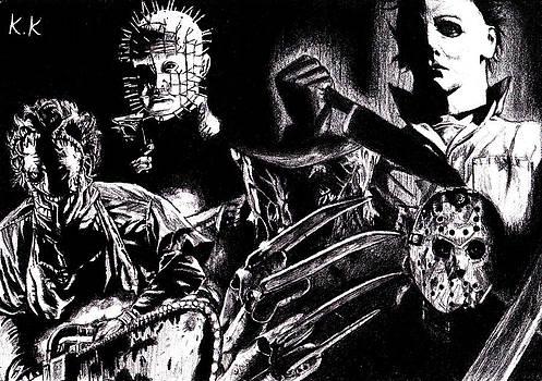 Drawing the men by Kohdai Kitano