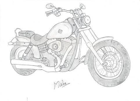 Dream Bike by Mahalakshmi P