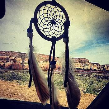 Dream Catcher In The Car by Richard Reens