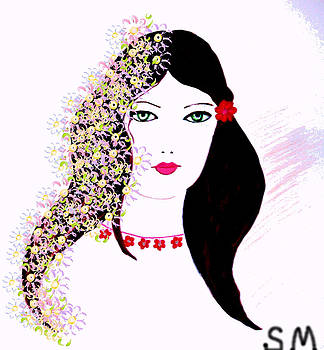 Dream girl  by Soheila Madani