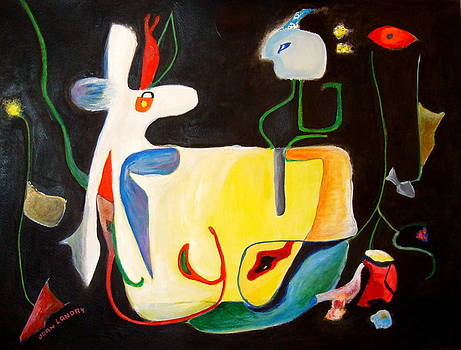 Circus Horse by Joan Landry