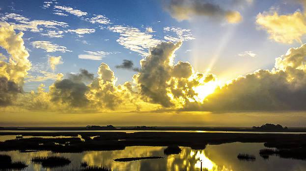 Dream Land Sunrise Sunset Image Art by Jo Ann Tomaselli