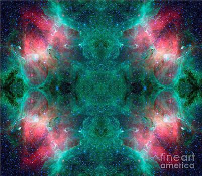 Dream Waves Abstract Space Art by Animated Sentiments