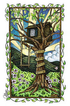 Dreamhouse in a Tree by Jennifer Allison