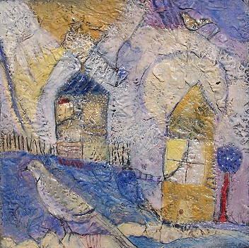 Dreaming Bird by Cynthia Scontriano Schildhauer