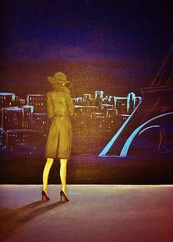 Dreaming Of Paris by Marina Hanson