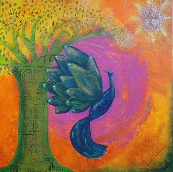 Dreaming of Sarasvati by Indigo Carlton