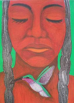 Dreaming Woman by Jane Madrigal