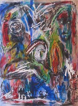 Dreams as the candle wick by Darryl Kravitz by Darryl  Kravitz