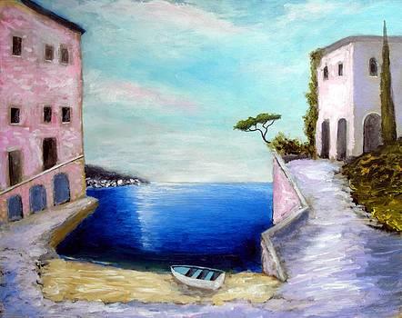 Dreams Of Costa De Liguria by Larry Cirigliano