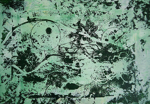 Dreamscape-green by Bitten Kari