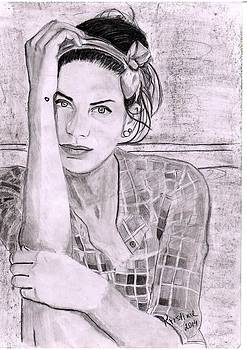 Dreamy girl 2 by Kristina Mladenova