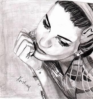 Dreamy girl by Kristina Mladenova