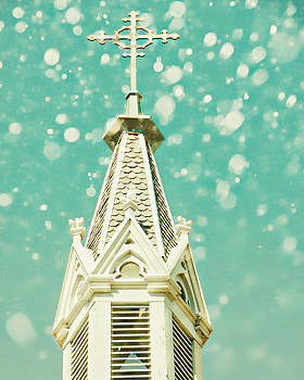 Dreamy Steeple by Marcie  Adams