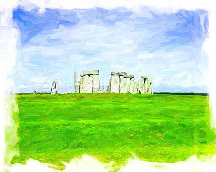 Mark Tisdale - Dreamy Stonehenge on the Salisbury Plain
